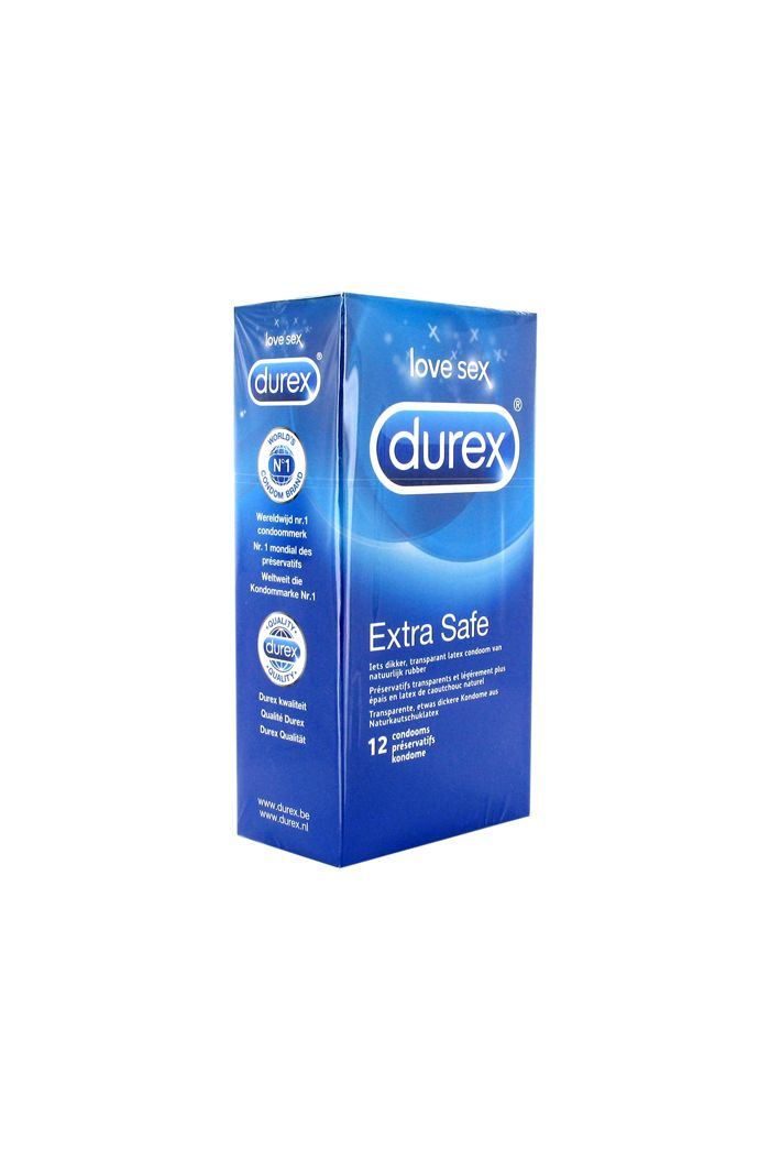 Durex - Extra Safe Condoms 12 pcs