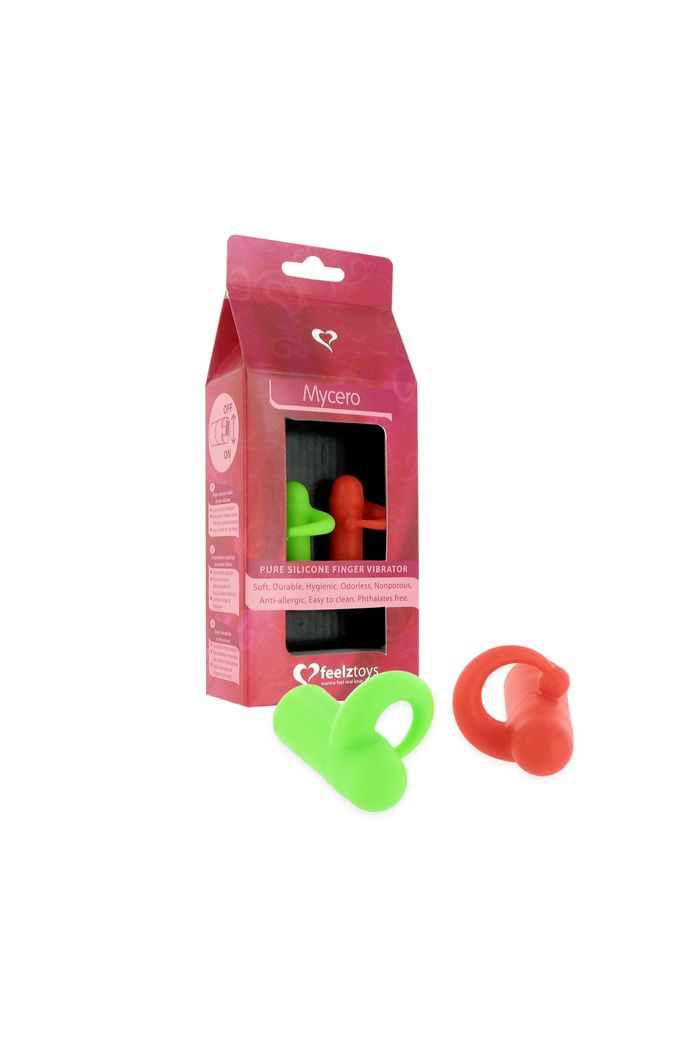 FeelzToys - Mycero Finger Fun Green Red