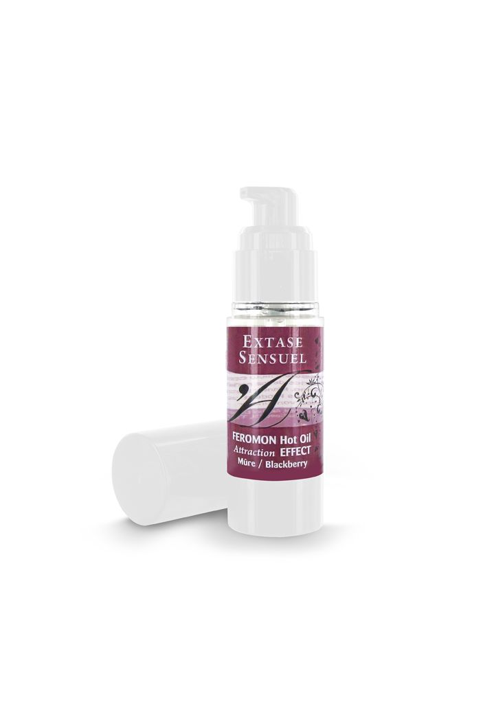 Extase Sensuel - Feromon Hot Oil Blackberry 30 ml