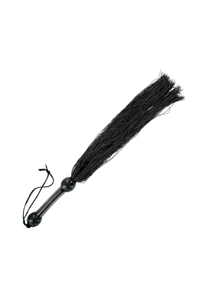 Sportsheets - Large Rubber Whip Black
