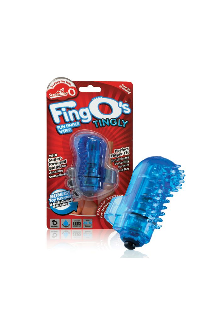 The Screaming O - The FingO Tingly Blue