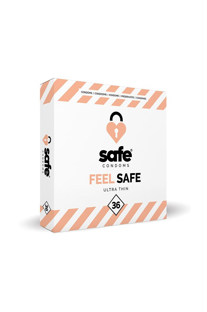 SAFE - Condoms - Ultra Thin (36 pcs)