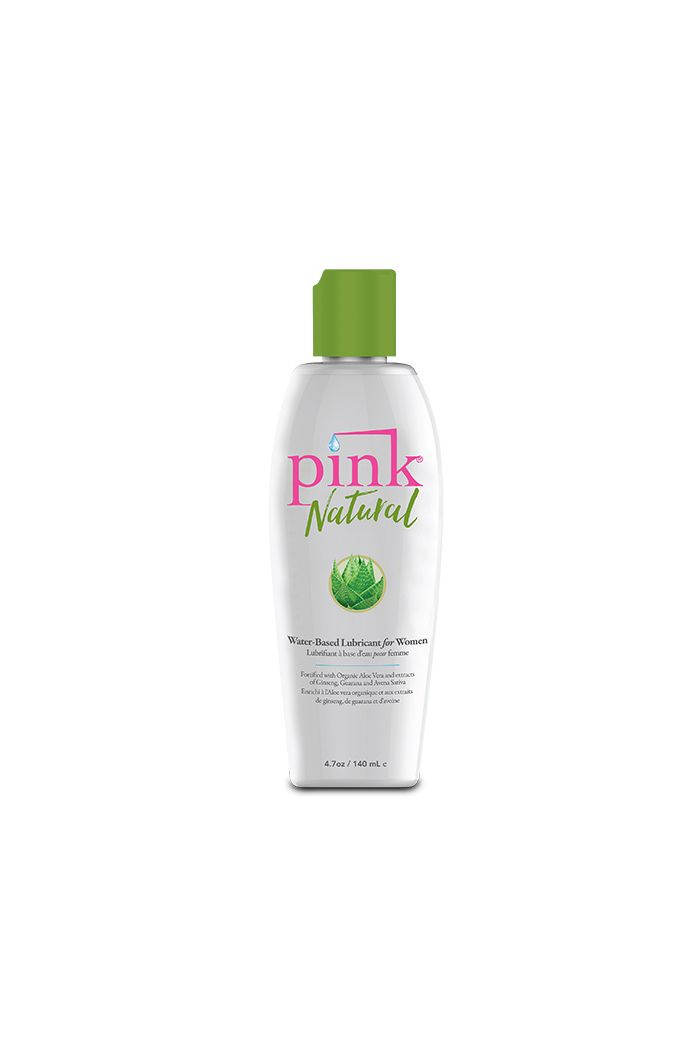 Pink - Natural Water Based Lubricant 140 ml