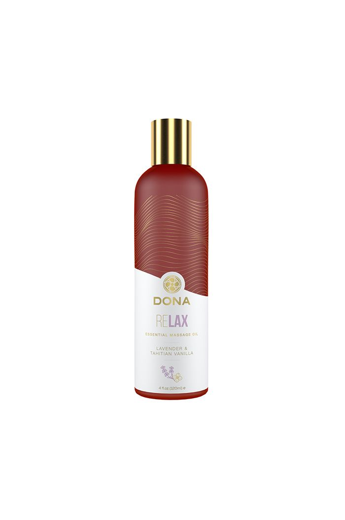 Dona - Essential Massage Oil Relax Lavender & Tahitian Vanilla 120 ml