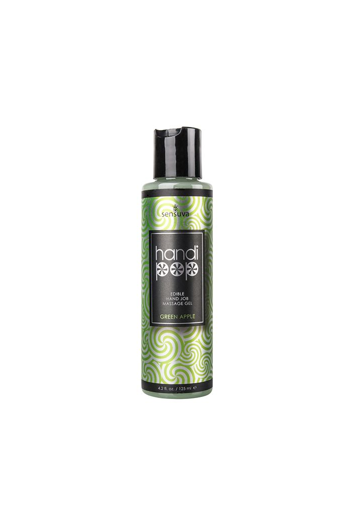Sensuva - Handipop Hand Job Massage Gel Green Apple 125 ml