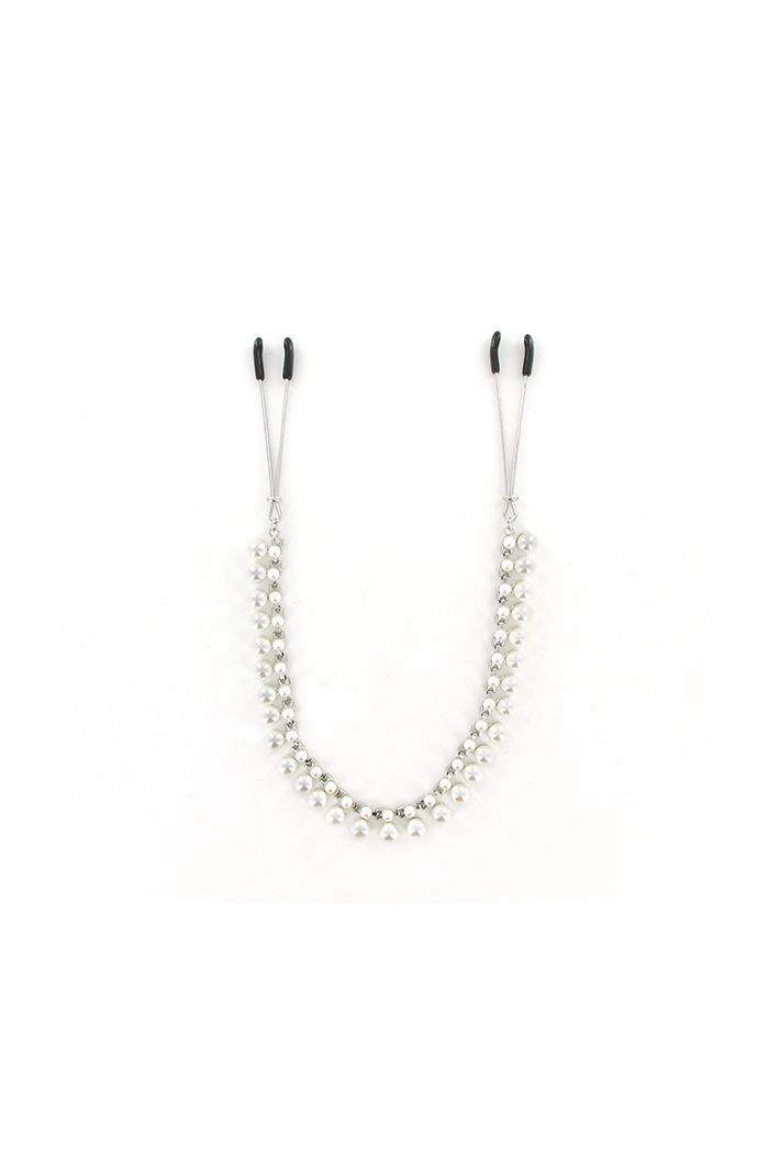 Sportsheets - Sincerely Pearl Chain Nipple Clips