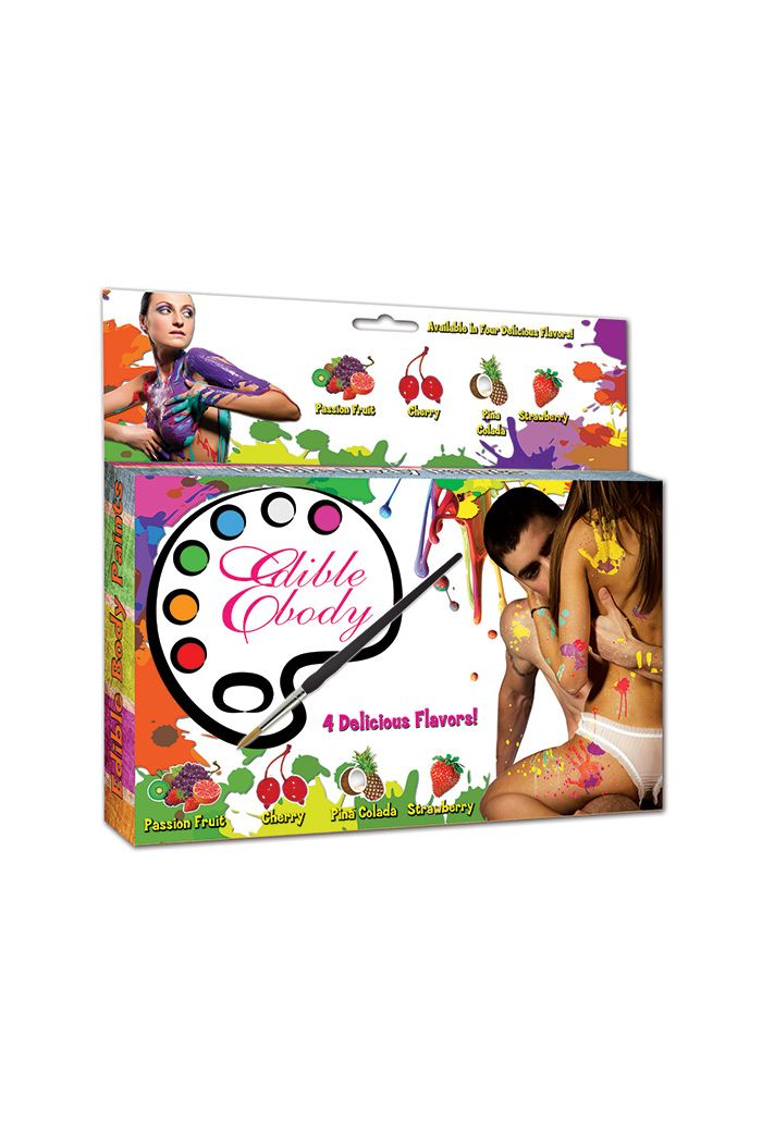 Edible Body Paints