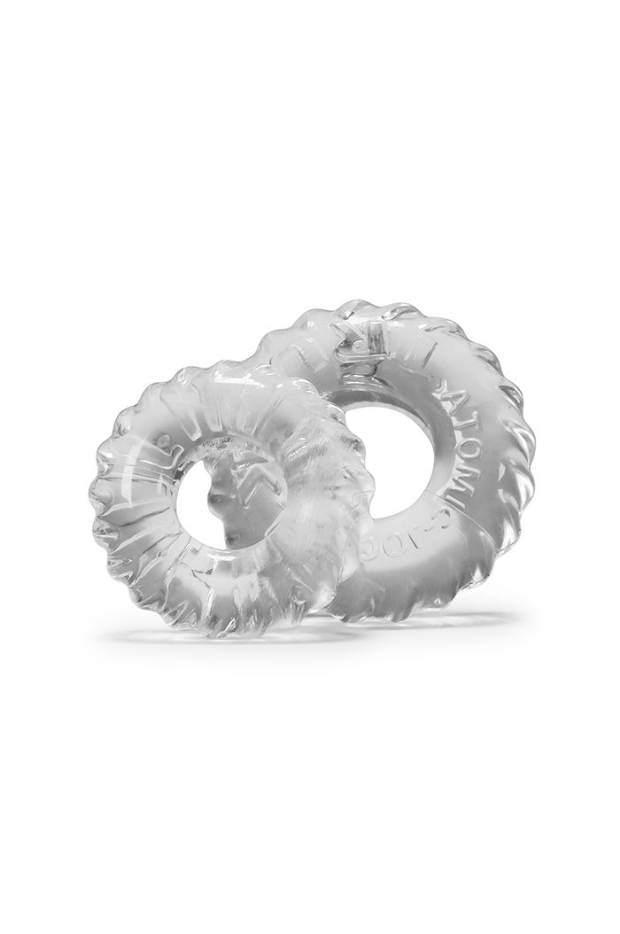 Oxballs - Truckt Cockring 2-pack Clear