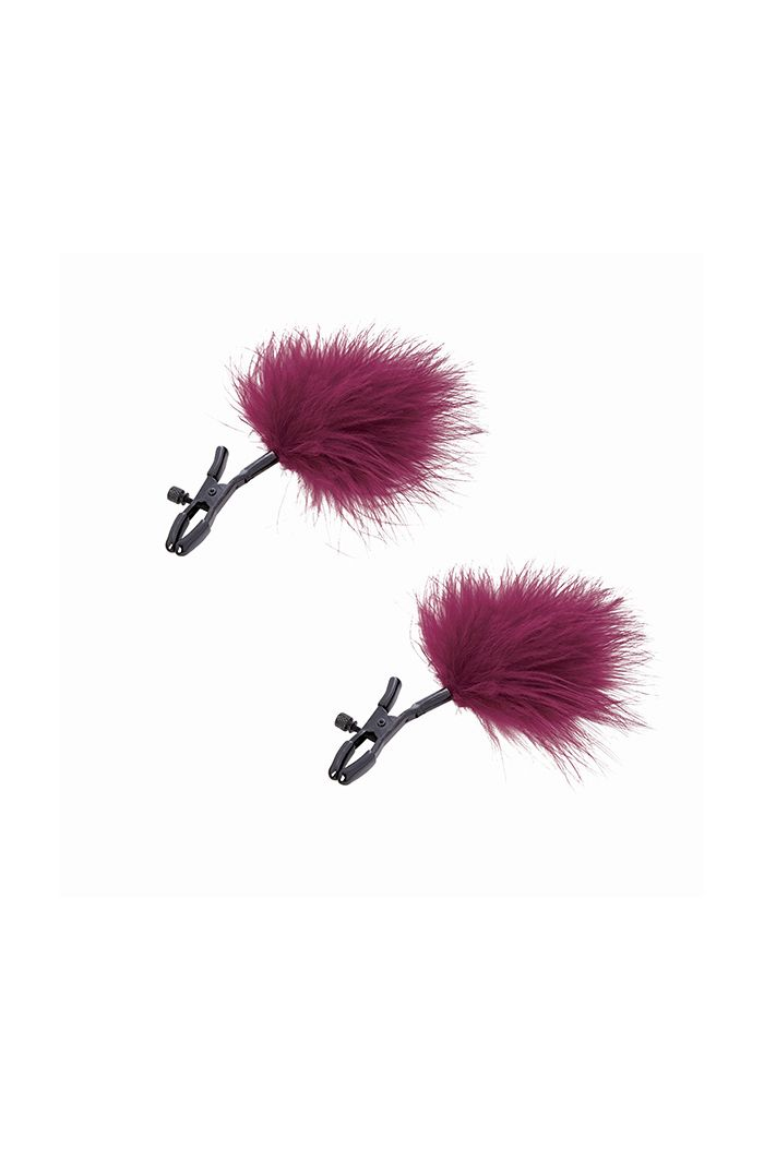 S&M - Enchanted Feather Nipple Clamps