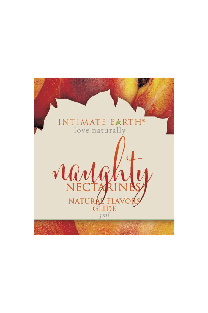 Intimate Earth - Natural Flavors Glide Nectarines Foil 3 ml